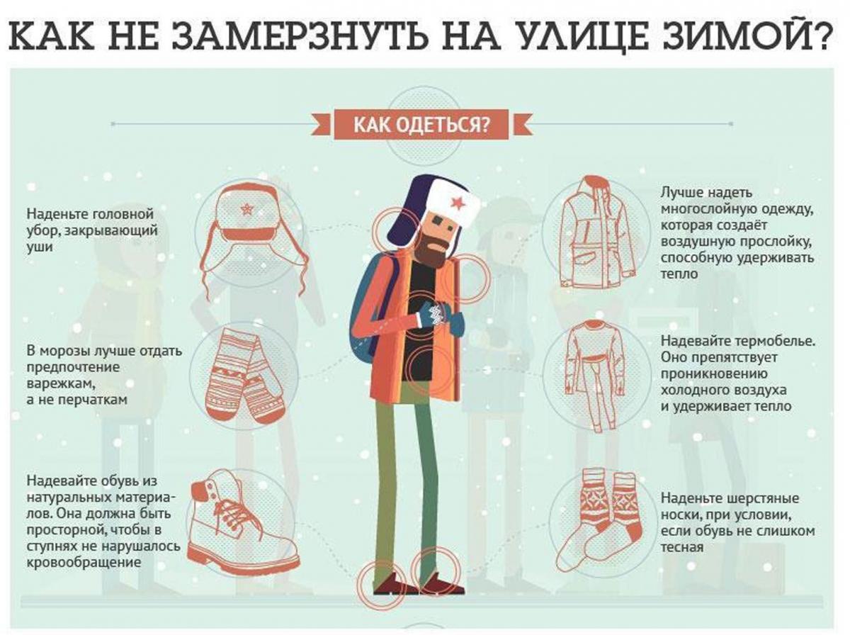 Что одеть что бы было тепло